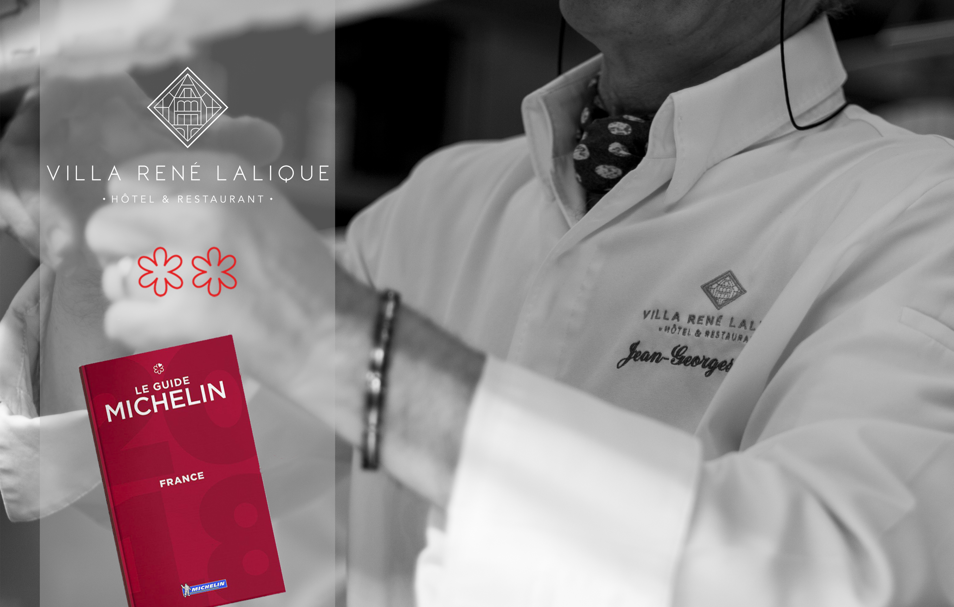 Michelin Guide 2018 Villa René Lalique